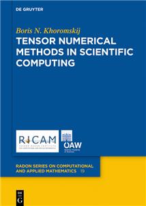 Tensor Numerical Methods in Scientific Computing