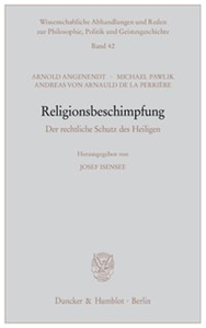Religionsbeschimpfung.
