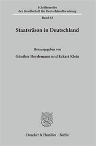 Staatsräson in Deutschland.
