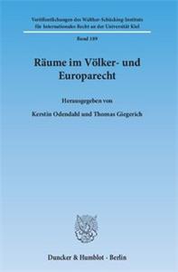 Räume im Völker- und Europarecht.