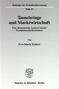 Tauschringe und Marktwirtschaft.