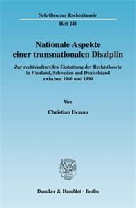 Nationale Aspekte einer transnationalen Disziplin.