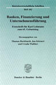 Banken, Finanzierung und Unternehmensführung.