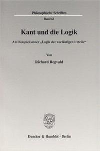 Kant und die Logik.