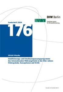 Stabilisierungs- und Strukturanpassungsprogramme des Internationalen Währungsfonds in den 90er Jahren: Hintergründe, Konzeptionen und Kritik.