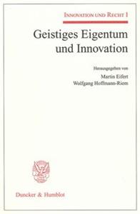 Geistiges Eigentum und Innovation.