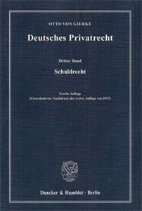 Deutsches Privatrecht.