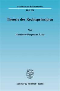 Theorie der Rechtsprinzipien.