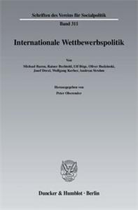 Internationale Wettbewerbspolitk.