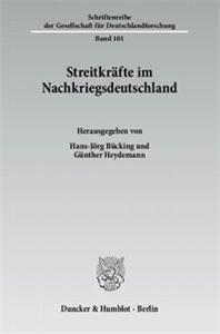 Streitkräfte im Nachkriegsdeutschland.