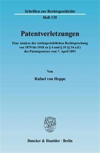 Patentverletzungen.
