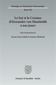 Le Soi et le Cosmos d'Alexander von Humboldt à nos jours.