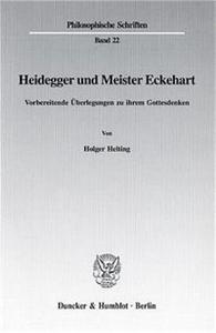 Heidegger und Meister Eckehart.