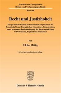 Recht und Justizhoheit.