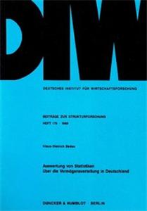 Auswertung von Statistiken über die Vermögensverteilung in Deutschland.