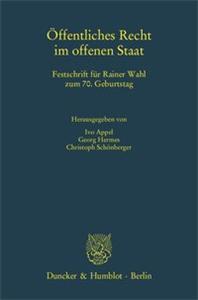 Öffentliches Recht im offenen Staat.