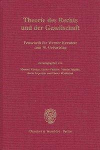 Theorie des Rechts und der Gesellschaft.