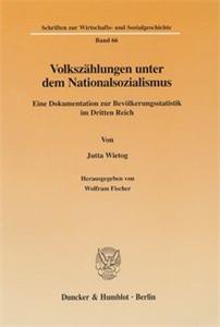 Volkszählungen unter dem Nationalsozialismus.