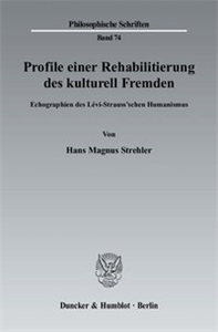 Profile einer Rehabilitierung des kulturell Fremden.