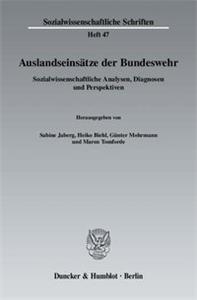 Auslandseinsätze der Bundeswehr.