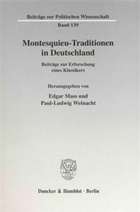 Montesquieu-Traditionen in Deutschland.