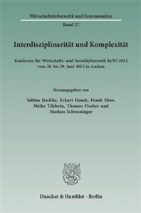 Interdisziplinarität und Komplexität.