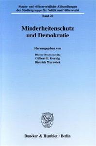 Minderheitenschutz und Demokratie.