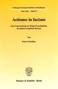 Actiones in factum.