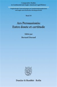 Ars Persuasionis: Entre doute et certitude.