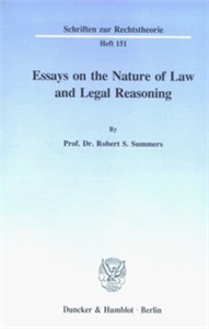 Essays on the Nature of Law and Legal Reasoning.