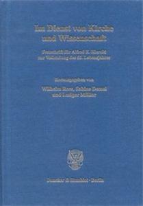 Im Dienst von Kirche und Wissenschaft.