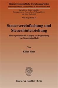 Steuervereinfachung und Steuerhinterziehung.