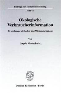 Ökologische Verbraucherinformation.