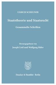Staatstheorie und Staatsrecht.