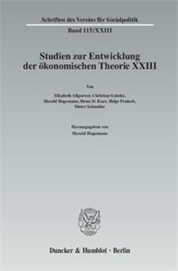 Ökonomie und Technik.