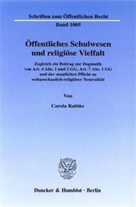 Öffentliches Schulwesen und religiöse Vielfalt.