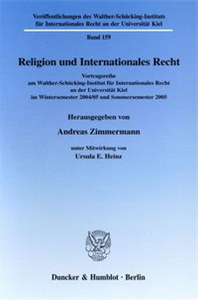 Religion und Internationales Recht.