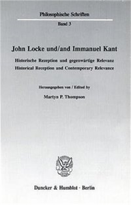 John Locke und / and Immanuel Kant.