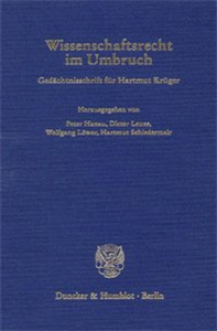 Wissenschaftsrecht im Umbruch.