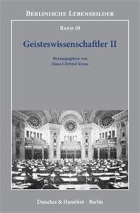 Geisteswissenschaftler II.