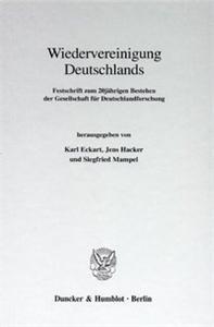 Wiedervereinigung Deutschlands.
