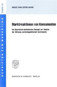 Marktreaktionen von Konsumenten.