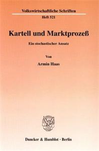 Kartell und Marktprozeß.