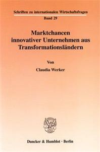 Marktchancen innovativer Unternehmen aus Transformationsländern.