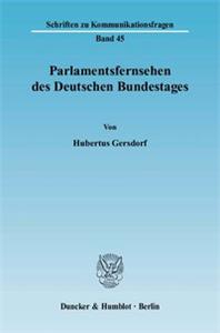 Parlamentsfernsehen des Deutschen Bundestages.