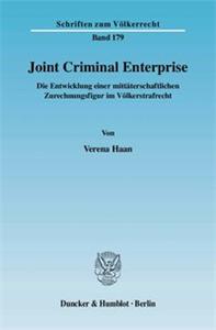 Joint Criminal Enterprise.