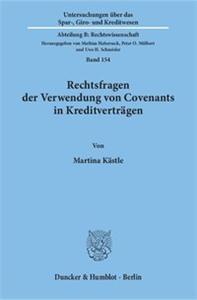 Rechtsfragen der Verwendung von Covenants in Kreditverträgen.