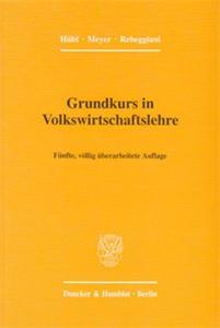 Grundkurs in Volkswirtschaftslehre.