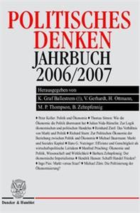 Politisches Denken. Jahrbuch 2006/2007.