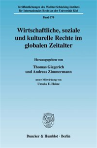 Wirtschaftliche, soziale und kulturelle Rechte im globalen Zeitalter.